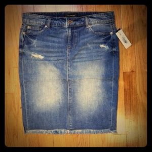 Joe Fresh Denim Skirt, Size 8